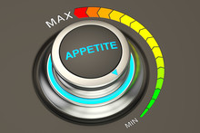 Min Level Of Appetite Concept,...