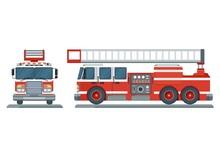 Vector Fire Truck