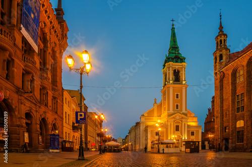 Fototapeta stare miasto w Toruniu