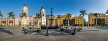 Panoramic View Of Lima Main Sq...