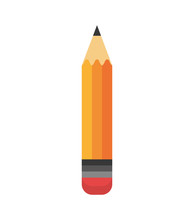 Cartoon Pencil Write School De...