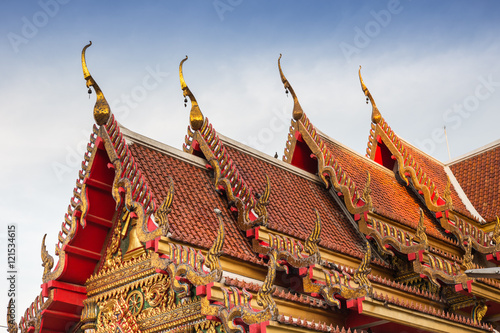 Thai Temple Wat Soithong Pagoda Roof And Chapel Gothic Art And Design Buy This Stock Photo And Explore Similar Images At Adobe Stock Adobe Stock