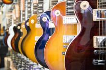 Many Electric Guitars Body Ali...