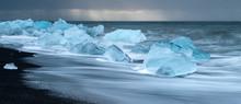 Icebergs In Jokulsarlon Ice Be...