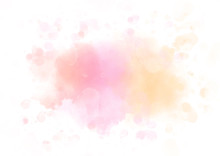 Colorful Watercolor Splash Abstract Background For Textures