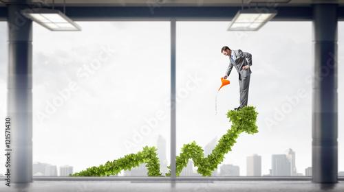Fotografia  Make your income grow . Mixed media