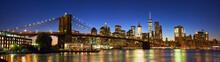 Brooklyn Bridge Panorama With ...