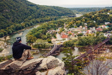 View On Harpers Ferry From Mar...
