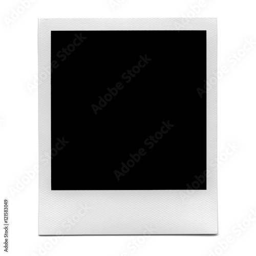 XXL - Blank polaroid photo frame.