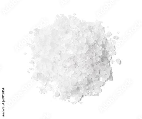 Pile of white rock salt Wall mural