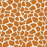 Wektorowy bezszwowy wzór z żyrafy skóry teksturą. Powtarzanie tło żyrafa do projektowania tekstyliów, papier pakowy, scrapbooking. Nadruk zwierzęcy. - 121595858