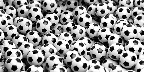 Tle piłki nożnej. 3d ilustracja