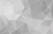 Abstract Gray Vector Background With Triangles