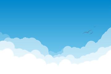Nebo s oblacima