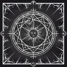 White Occult Hermetic Circle V...