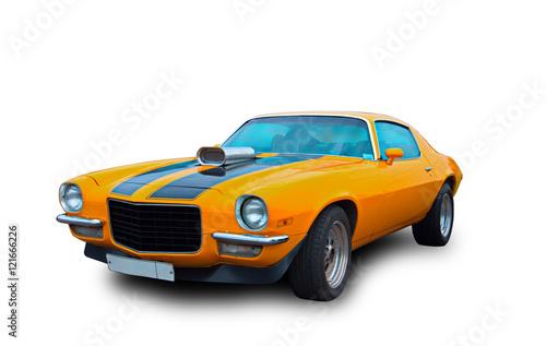 Keuken foto achterwand Vintage cars American muscle car
