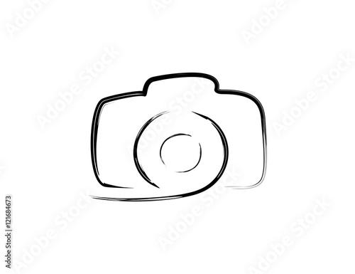 Slika na platnu Camera logo