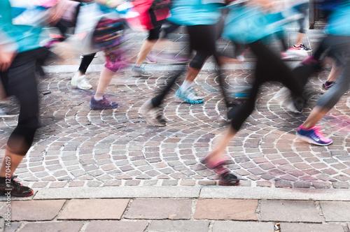 Fotografía  Concept vitesse et course à pied