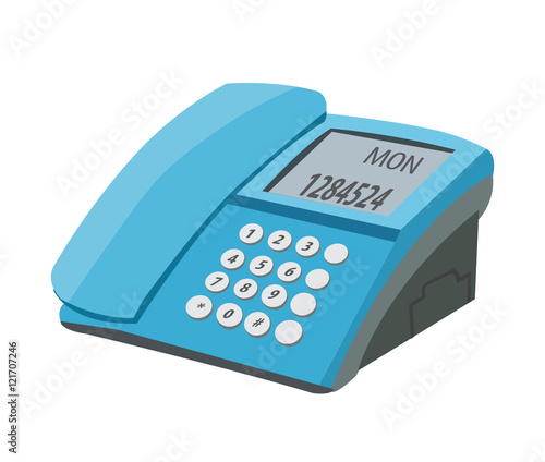desk phone icon - Buy this stock vector and explore similar