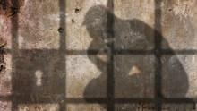 Thinker Under Jail Bars