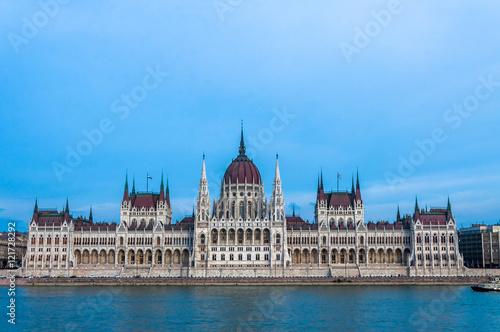 Fotografie, Obraz  Budapest, Parliament building