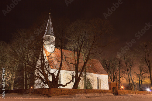 Fotografija  Church at Nõo