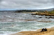 Scuba Divers Monterey Bay California