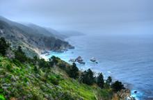 Coastal Fog Big Sur California