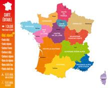France - Nouvelle Carte à 13 ...