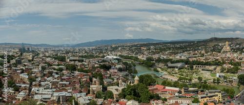 Foto op Aluminium Tbilisi panorama