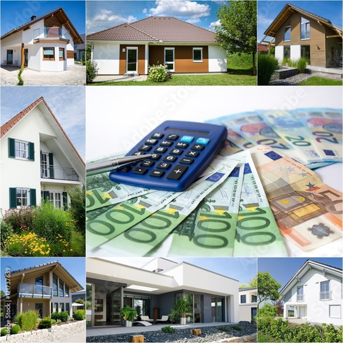 Kosten Das Eigene Haus Nebenkosten Buy This Stock Photo And
