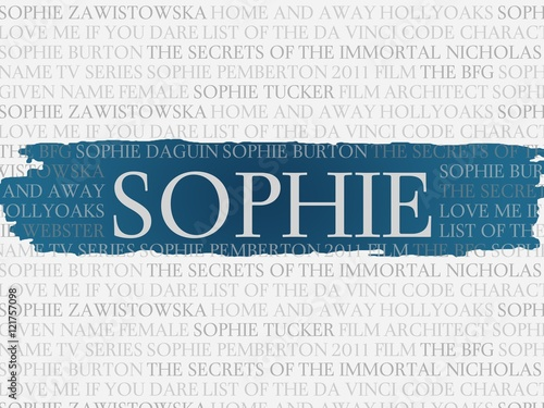 фотография sophie