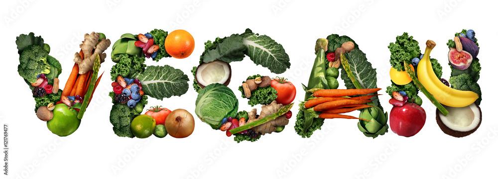 Fototapety, obrazy: Vegan Concept
