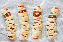 Cute Sausage Mummy Fun Food For Kids
