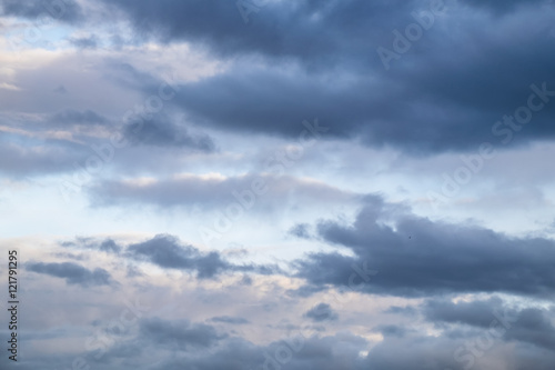 Canvas Prints Heaven Cloud in the sky at evening