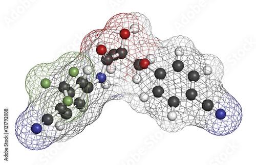 Photo Enobosarm drug molecule