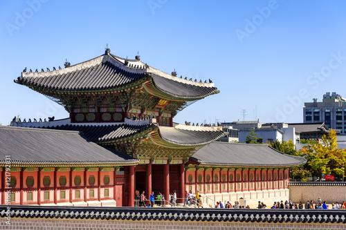 Gyeongbokgung Palace : SEOUL KOREA. Poster