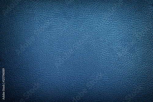 Fotografía  Blue leather texture background
