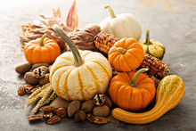 Fall Copyspace With Decorative...