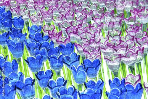 Glass Flower Tulip