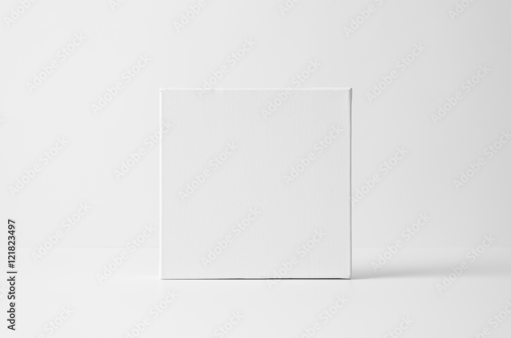 Fototapety, obrazy: Square Art Canvas Mock-Up