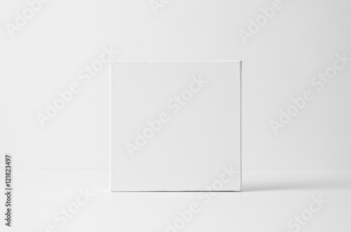 Fotografie, Obraz  Square Art Canvas Mock-Up