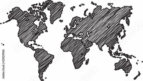 szkic-mapy-swiata-na-bialym