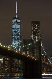 Fototapeta Most - New York City at night.