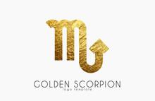 Golden Scorpion. Golden Zodiac...
