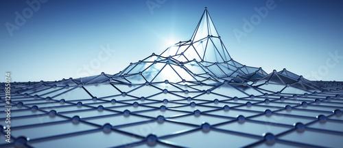 Cuadros en Lienzo Netzwerk Peak 1