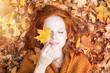 canvas print picture - Wellness Frau Portrait