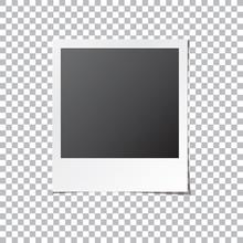 Instant Photo Frame Isolated V...