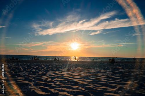 Photo Sunset on St. Pete Beach