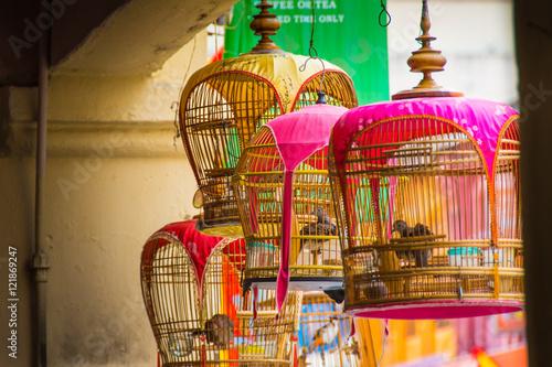 Foto auf Gartenposter Kuala Lumpur Kuala Lumpur, Malaysia, bird cage
